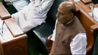 लोकसभा में राजनाथ सिंह बोले-SC/ST एक्ट में सरकार ने कोई बदलाव नहीं किया