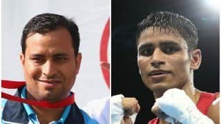CWG 2018: Shooter Sanjeev Rajput, Boxer Gaurav Solanki Clinch Gold in Men's 50m Rifle, 52kg Boxing, Respectively