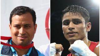 CWG 2018: Shooter Sanjeev Rajput, Boxer Gaurav Solanki Clinch Gold in Men's 50m Rifle, 52kg Boxing, Respectively