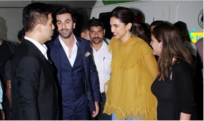 Ranbir Kapoor Deepika PAdukone Karan Johar