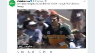 Sachin Tendulkar Fans Give it Back to Cricket Australia in Style For Cheeky Birthday Tweet to Damien Fleming