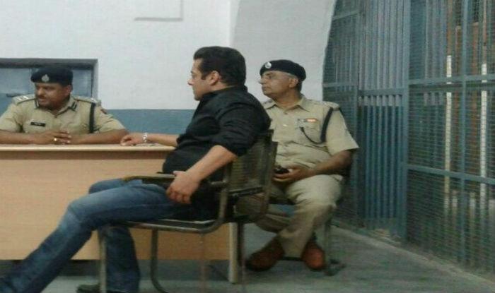 Salman Khan at Jodhpur Central Jail