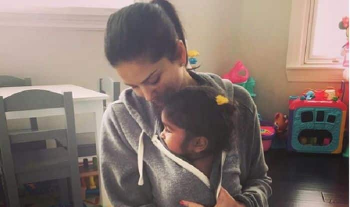 Sunny Leone Writes An Emotional Post For Her Daughter Nisha Kaur Weber Along With Their Picture In Light Of The Recent Kathua Rape Case