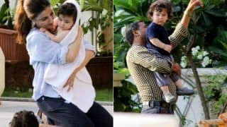 Taimur Ali Khan Spotted At A Pool Play Date With Inaaya Naumi Kemmu While Mommy Kareena Kapoor Khan Takes Off To Delhi (PICS)