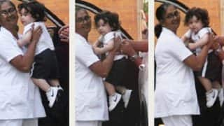 Taimur Ali Khan Always Manages to Sneak In A Smile For The Shutterbugs, These Pictures Are Proof