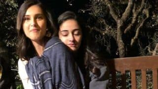 Student Of The Year 2 : Ananya Panday And Tara Sutaria Keep Each Other Warm In The Chilly Weather Of Dehradun