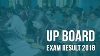 UP Board Result 2018: Class 10, 12 Results Declared at upresults.nic.in