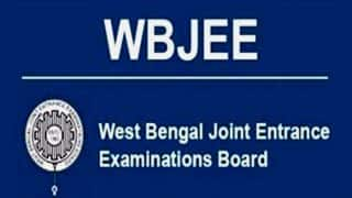 WBJEE 2021 Registration Ends Today: Here's How To Apply For Entrance Exam on wbjeeb.nic.in