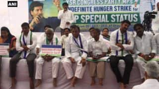 Five YSRCP MPs on Indefinite Hunger Strike After Resigning From Lok Sabha Over Andhra Pradesh Special Status Demand