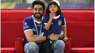 Aaradhya Bachchan Leaves A Cute Note For Daddy Abhishek Bachchan In His Office - See Pic