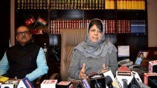 PDP-BJP Alliance in Jammu and Kashmir Intact For Now, Mehbooba Mufti Warns of 'Chaos' if Valley's Youth Ignored