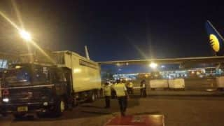 Major Accident Averted as Jet Airways Aircraft Wing Hits Truck on Runway