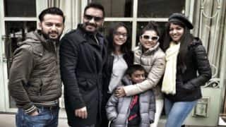 Ajay Devgn Celebrates His 49th Birthday With Kajol, Kids, Vatsal Sheth And Ishita Dutta In Paris - See Pic