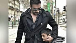 Ajay Devgn Gets Slammed For Smoking Next To Son Yug - See Comments
