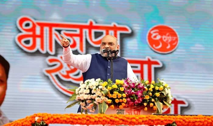 Amit Shah speaks at BJP's Foundation Day celebration on Friday