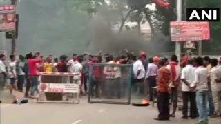 LIVE भारत बंद : मोदी के बिहार दौरे से पहले दरभंगा में रोकी गई ट्रेन, आरा में दो गुटों में पथराव