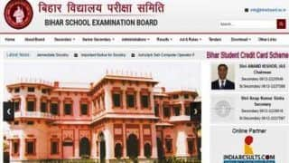 Bihar Board 10th Result 2018 Declared at biharboard.ac.in; Check Now