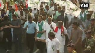DMK Launches 'Cauvery Retrieval Walk' in Tamil Nadu, Demand Immediate Constitution of Cauvery Management Board