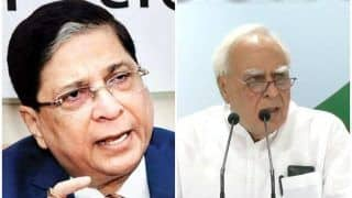 Impeachment Motion Against CJI Dipak Misra Rejected: BJP, Congress Indulge in War of Words - Here's Who Said What