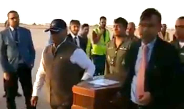 Image result for Remains of 38 Indians killed by IS in Iraq handed over to minister