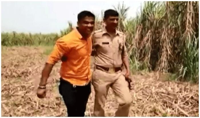 कई मामलों के आरोपी को पुलिस ने मुठभेड़ कर अरेस्ट कर लिया.