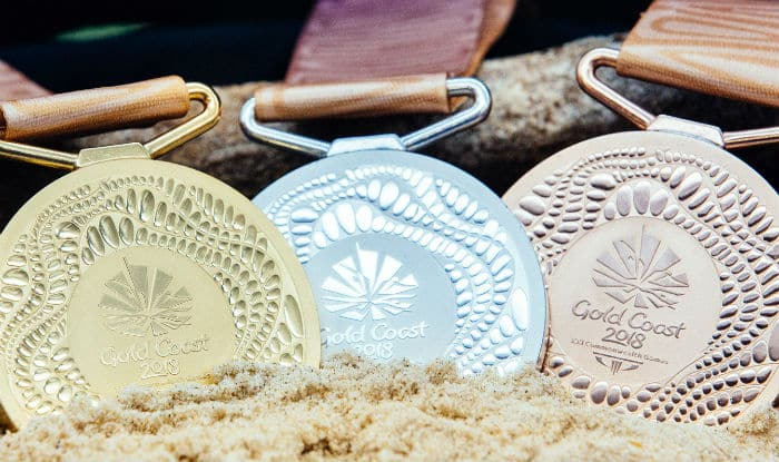 File picture of CWG 2018 medals. (GC2018)