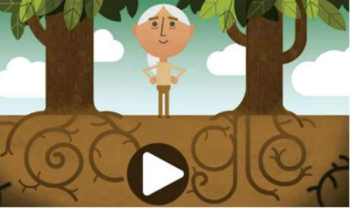 Google Doodle shares an Earth Day message from Dr. Jane Goodall