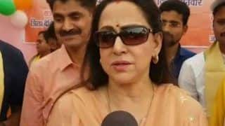 Monkey Menace Isn't a Problem, Visitors Feeding Them Samosa is: Hema Malini in Vrindavan