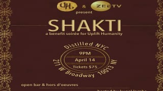 Uplift Humanity And Zee TV Partner up to Host Shakti, a Charity Soiree, in New York City