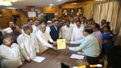 BSP candidate B R Ambedkar nominated for the Legislative Council |  बसपा प्रत्याशी बी आर अम्बेडकर ने विधान परिषद् की सीट के लिए नामांकन किया