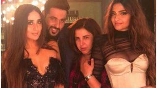 Veere Di Wedding: Kareena Kapoor Khan, Sonam Kapoor, Badshah Shoot A Special Song With Farah Khan - See Pic