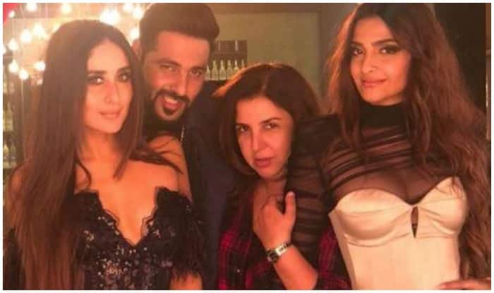 Veere Di Wedding: Kareena Kapoor Khan, Sonam Kapoor, Badshah Shoot A Special Song With Farah Khan - See Pic