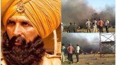अक्षय कुमार की चर्चित फिल्म 'केसरी' के सेट पर लगी आग