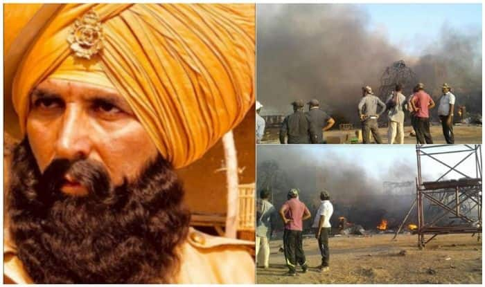 Akshay Kumar's Kesari Sets Gutted In Fire: Akshay and Parineeti Chopra Safe!