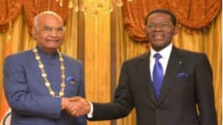 President Ram Nath Kovind Conferred With Equitorial Guinea's Highest Civilian Honour