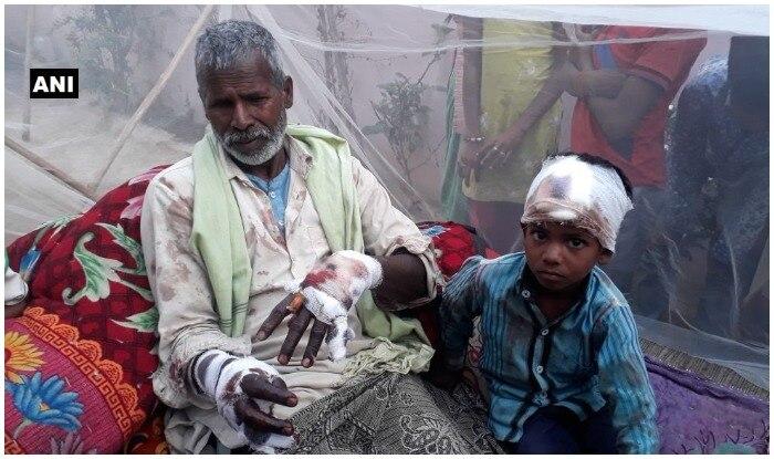 तेंदुए ने हमला कर दोनों को घायल कर दिया. (फोटो एएनआई)