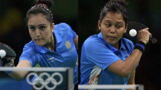 CWG2018: टेबल टेनिस में भारत को सिल्वर मेडल, फाइनल में हारीं मनिका-मौमा