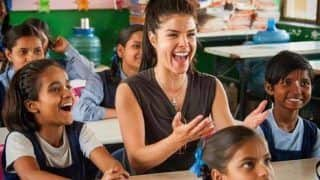 हॉलीवुड एक्ट्रेस पर चढ़ा भारतीय संस्कृति का रंग, यूपी के बच्चे को लिया गोद