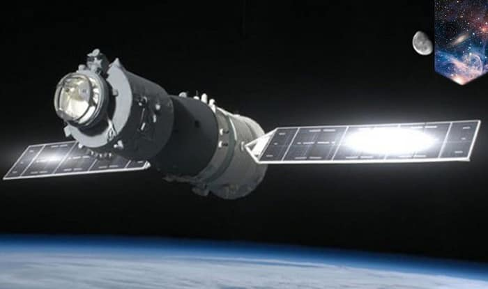 China's Tiangong-1 space station (An YouTube grab)