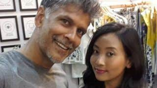 Milind Soman's Bus Selfie With Wife Ankita Konwar is Winning The Internet - See Pic