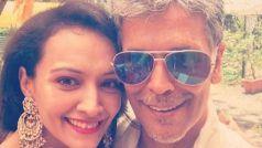मिलिंद सोमन की शादी में पहुंचीं उनकी एक्स गर्लफ्रेंड, दुल्हन अंकिता के साथ ली सेल्फी