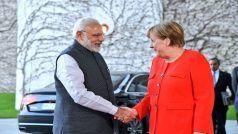 6 दिवसीय यात्रा के अंतिम पड़ाव में जर्मनी पहुंचे पीएम मोदी, जर्मन चांसलर मर्केल से की बातचीत