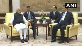 Narendra Modi China Visit: PM Holds Delegation Level Talks With Chinese Premier Xi Jinping in Wuhan, Says Both Nations Can Together Bring Stability in The World