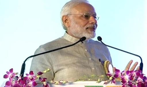 चंपारण सत्याग्रह शताब्दी वर्ष के समापन समारोह' में प्रधानमंत्री मोदी