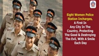 Mumbai Becomes First City to Appoint Women in-charge in 8 Police Stations