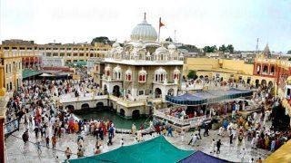 पाकिस्तान के इस गुरुद्वारे में बैसाखी मनाने पहुंचे 1700 भारतीय सिख