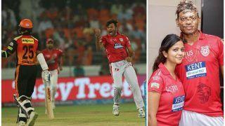 टीम हारी पर हीरो बने अंकित राजपूत ,पत्नी संग मनाया 5 विकेट की कामयाबी का जश्न