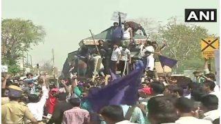 भारत बंद: राजस्थान में हिंसक हुआ दलितों का प्रदर्शन, पुलिस ने 50 लोगों को किया गिरफ्तार