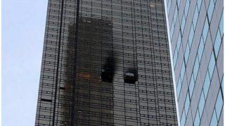 ट्रंप टावर की 50वीं मंजिल में लगी आग, एक व्यक्ति की मौत, 6 घायल