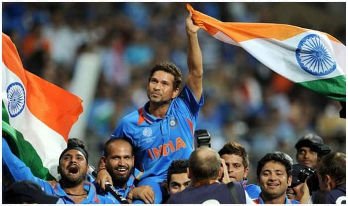 File picture of India winning 2011 World Cup.